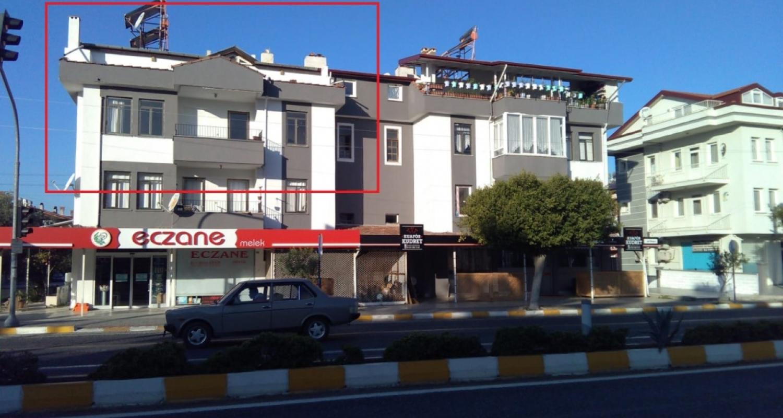 Fethiye Ana cadde yatırımlık çatı dublex 2 Daire